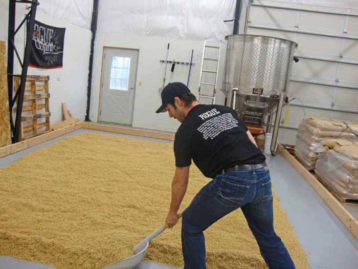 Flipping the floor malt