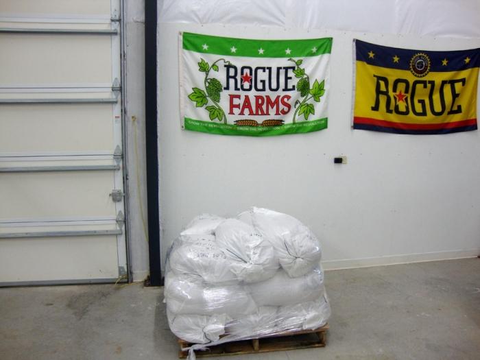 bagged malt rogue spirits
