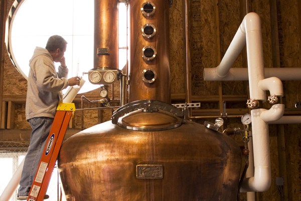 vendome still rogue spirits distillery newport oregon