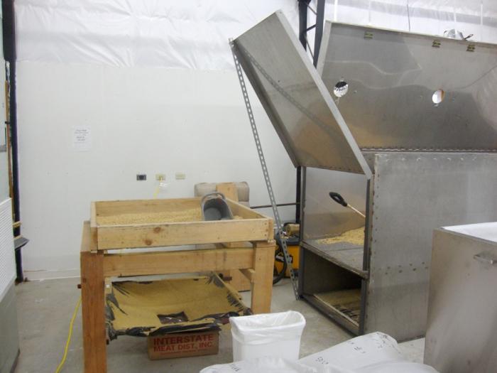 bagging malt micro farmstead floor kiln sift