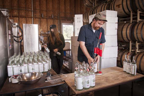 We cap the bottles by hand, too.