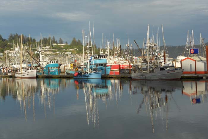 Commercial fishing supports half the families who live in our hometown of Newport, Oregon.