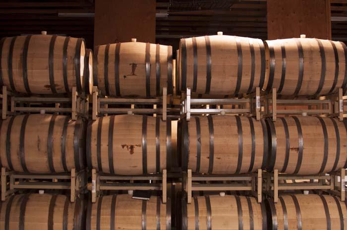 rye barrel aging