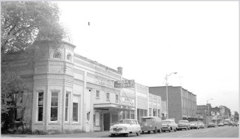 Monmouth in 1961 when it celebrated 110 years of Prohibition. Photo from Salem Public Library.