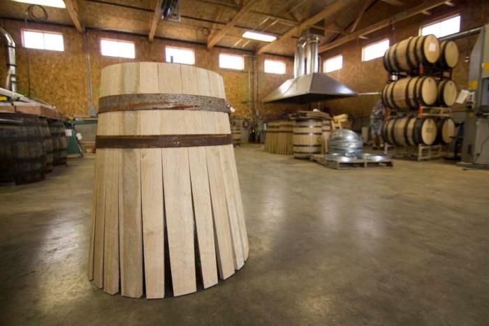 Barrel rose-Half Stave