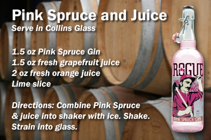 Pink Spruce and Juice